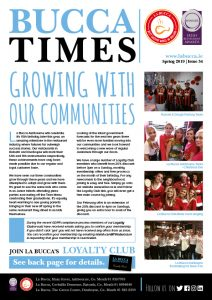 Bucca Times Spring issue 2019