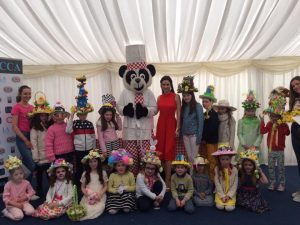 Easter Bonnet Competition at Fairyhouse Easter Racing Festival