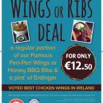 Wings or Ribs Deal