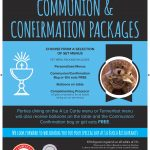Communion & Confirmation Packages 2019