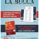 Christmas at La Bucca …