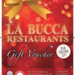 La Bucca Vouchers … Ideal Christmas Gift!