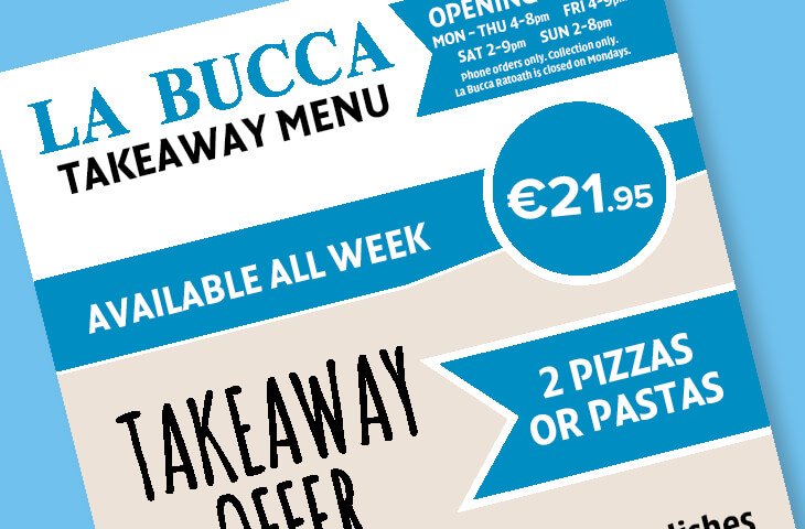 La Bucca Takeaway Offer